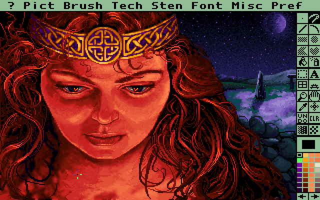 Deluxe Paint II Enhanced